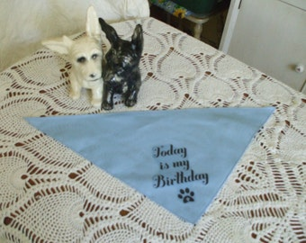Dog Birthday Bandanna - Small