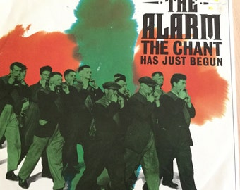 The Alarm single 45 The Chant Has Just Begun