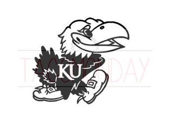 KANSAS JAYHAWK DECAL
