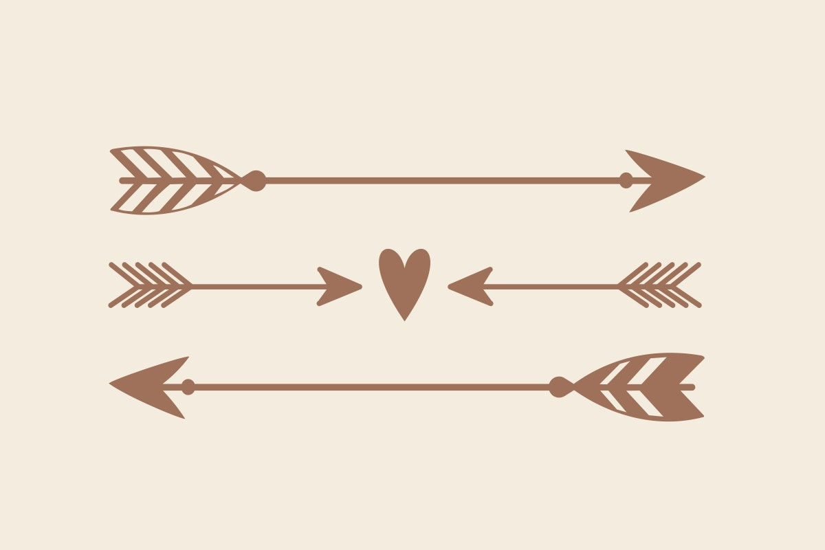 Arrow Decal | Rustic Wedding Decor | Boho Decor | Arrow ...