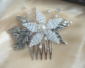 Bridal Hair Comb, Wedding Hair Comb, Decorative Comb Bridal Hair Accessory, Bridal Haircomb