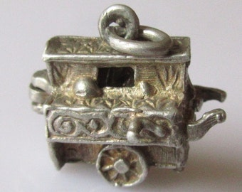 Silver Organ and Monkey Opening Charm