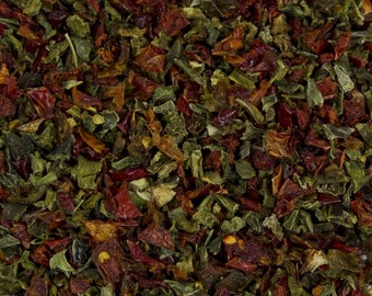 Dried Red & Green Bell Pepper Mix 2oz