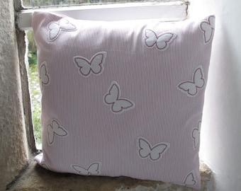 """Applique Butterflies Cushion Cover  40cm (16"""")"""