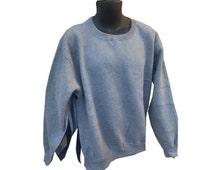 Side Open Sweatshirt, Adaptive, post surgery shirt, shoulder surgery shirt, disability shirt, shoulder shirt, post op shoulder surgery