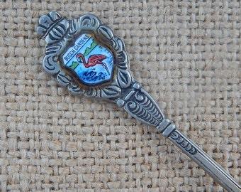 Busch Gardens Souvenir Spoon  ~  Ornate Busch Gardens Souvenir Spoon