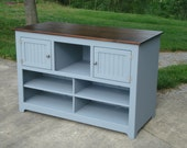 Custom Media Console, TV Stand with Storage, Subwoofer Media Console