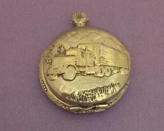 Pocket watch case Altered art Vintage Watch repair Steampunk supply E1517