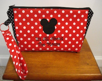 Wristlet Bag - About the Mouse
