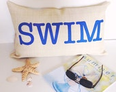 Outdoor Pillow Covers Custom Pillow Cover 12x20 Pillow Personalized Gift for Her Merino Wool Felt Outdoor Decor Pool Decor Deck Decor