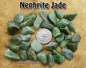 Jade Nephrite (small/medium) tumbled stone for crystal healing