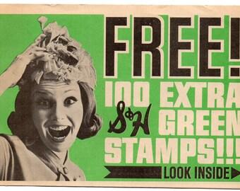 Sunset House 1967 S&H Green Stamps Booklet Catalog Brochure Paper Ephemera
