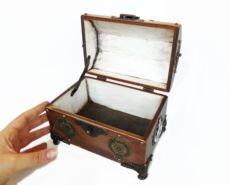 wedding cards box pirate treasure chest nautical wedding