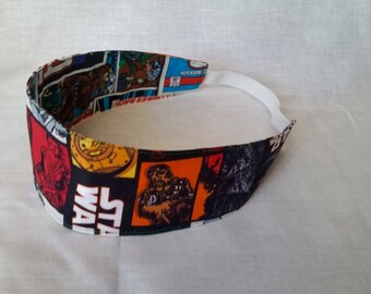 Reversible Star Wars Headband The Force Awakens/ Original Trilogy