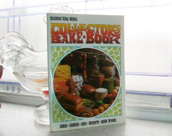 Vintage Cookbook Collector's Bake Book Occident King Midas Flour