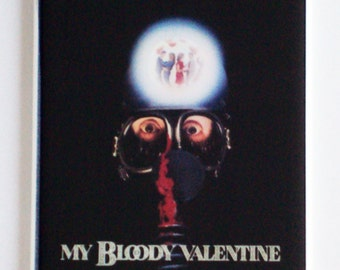 My Bloody Valentine Movie Poster Fridge Magnet