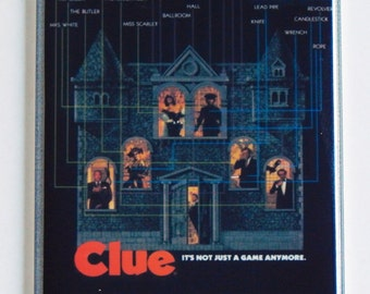 Clue Movie Poster Fridge Magnet