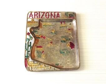 Souvenir Ashtray - Souvenir Tray - Arizona Souvenir