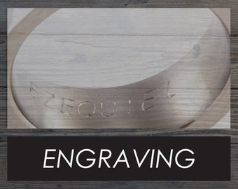 Engraving for one (1) ring