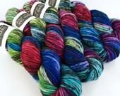 superwash {chunky} | NYMPH | ready to ship | hand dyed yarn | superwash merino