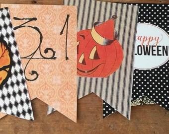 Vintage Halloween Banner (#Two) Digital Download