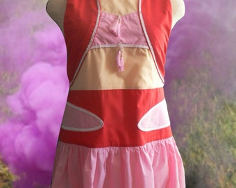 I Dream of Jeannie Inspired Apron Pattern Small to 3x Women