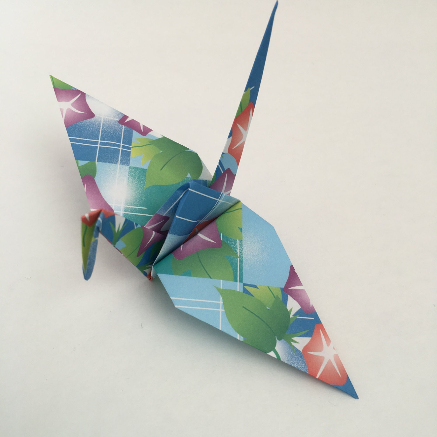 Origami Cranes Large-12 Large Japanese Paper Cranes with - photo#1