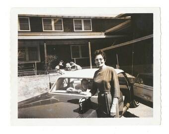 Auntie found photo old vernacular photography social realism vintage original snapshot polaroid