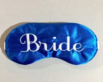 Bride sleep eye mask