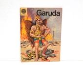Garuda Comic Vintage India The Legend About The Vehicle of Lord Vishnu Hindu Mystical Bird Omar Chitra Katha 1980s  Free Us Ship