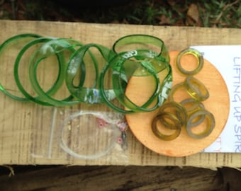 DIY WINDCHIME KITS, mini wind chime kits, wind chimes, kits, do it yourself, eco friendly and green, mobile,