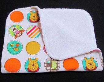 Winnie the Pooh Baby Burp Cloth, Tigger, Piglet, Baby Burp Cloth