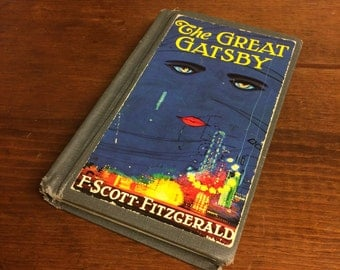 The Great Gatsby by F. Scott Fitzgerald - 1986 printed hardcover