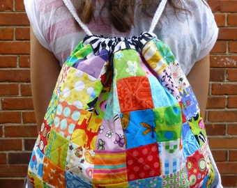 PDF Pattern: Patchwork Backpack (Beginner Friendly)