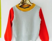 SOFTIE 4-5 Years Kids Childrens Cashmere Jumper Top Sweater in Upcycled Cashmere Unisex