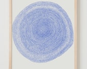 Fine Art Print. Abstract Flower. October 6, 2014.