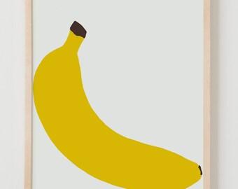 Fine Art Print.  Banana.  April 29, 2014.