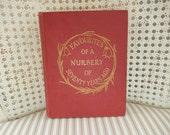 Antique Nursery Rhymes - Vintage Book - 1916 Nursery Tales Book - Vintage Children's Book - Antique Children's Book
