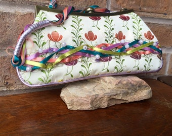 Colorful Vintage Spencer and Rutherford Purse