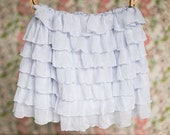 Ice Blue Ruffle Skirt | Spring skirts | Size 2T, 3T, 4T, 5, 6 | Ready to Ship SALE