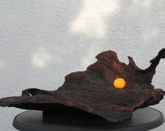 Schale aus Massivholz