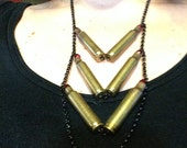 Confirmed Kills Bullet Casing Statement Necklace 10