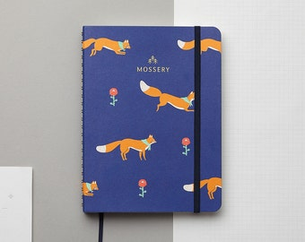 PRE-ORDER Jumping Foxes 2017 Gold Foil Personalized Planner