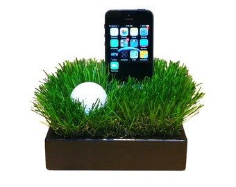 A Case Friendly Stand for Golf Lovers - Fits iPhone 7, 7Plus and all other similarly sized smartphones