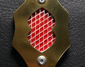 Real Brass Farscape Communicator - Comm Badge - Combadge