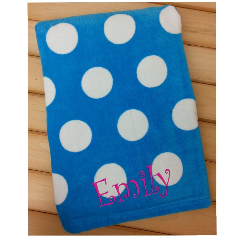 Beach Towel Polka Dot Towel Towel For Kids Beach Towel
