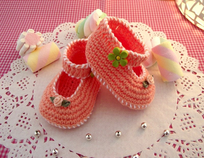 CROCHET PATTERN Baby Shoes Pattern Little Lilly crochet