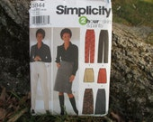 Simplicity 2 Hour Skirts and Pants Pattern Size 14-22 Skirt Pattern Pants Pattern