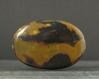 Beautiful jasper  cabochon,  Semiprecious stone, Jewelry supplies S6890