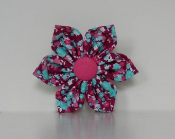 Floral Pink Purple Dog Flower Wedding Accessories Made to Order